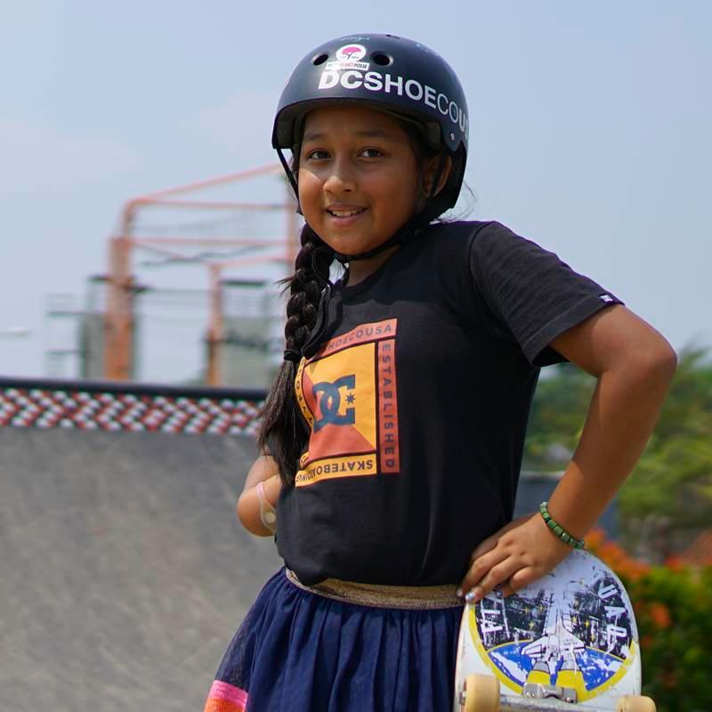 Mari Kenalan Dengan Aliqqa Kayyisa, Skater Termuda Indonesia yang Siap  Bertanding di Asian Games 2018 - Womantalk