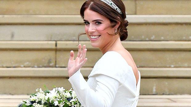 Cantik Tanpa Menor, Ini Makeup Putri Eugenie di Hari Pernikahannya