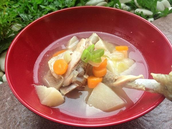 Resep Praktis Sup Ayam Bengkuang - Womantalk
